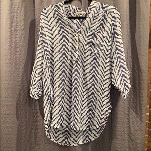 Wishful Park 3/4 sleeve blouse